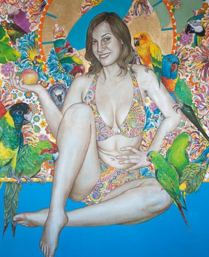 Jule | oil on canvas | 185 x 145cm | 2008